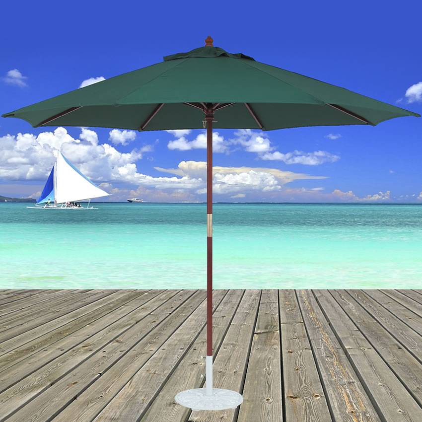 Wood Umbrellas - Tropishade ® Worldwide Manufacturer Of Outdoor Patio Umbrellas