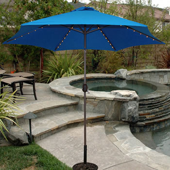 with umbrella safavieh a in twist outdoor beige navy on well feet expected fashion umbrellas city best the patio valance