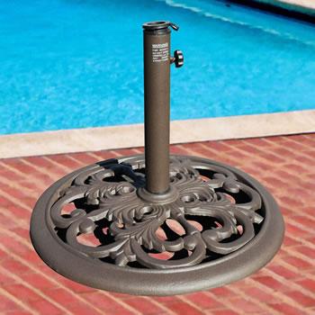 cast iron umbrella base - Umbrella Base