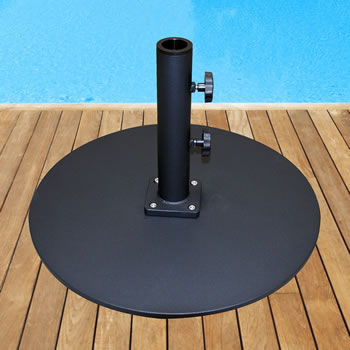 umbrella base with wheels. Steel Plate Umbrella Base With Wheels