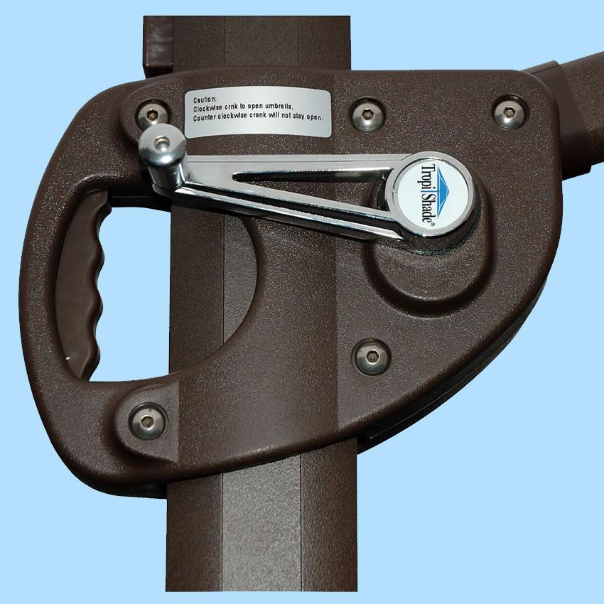 010611 10 Cantilever Trigger Lift Umbrella By Tropishade 174 Worldwide Manufacturer Of Outdoor